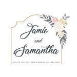 wedding invitation design logo